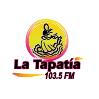 Logo of radio station XHRX La Tapatia 103.5 fm