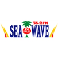 Logo of radio station Sea Wave 76.2