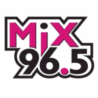 Logo of radio station KHMX Mix 96.5
