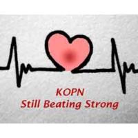Logo of radio station KOPN 89.5