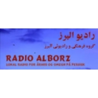 Logo of radio station Radio Alborz , Persian - Copenhagen