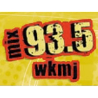 Logo of radio station WKMJ The mix 93.5