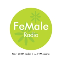 Logo of radio station FeMale Radio