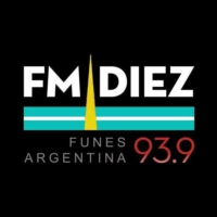 Logo of radio station FM Diez Funes