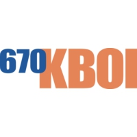 Logo of radio station KBOI 670 AM