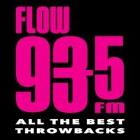 Logo de la radio CFXJ FLOW 93-5