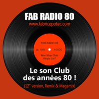 Logo of radio station Fab Radio 80