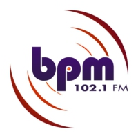 Logo of radio station BPM 102.1 FM