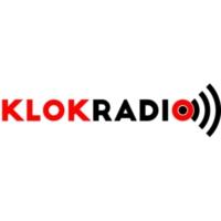 Logo of radio station Klokradio
