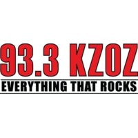 Logo of radio station KZOZ 93.3
