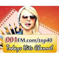 Logo de la radio 001FM.com - Top 40 Hits Channel
