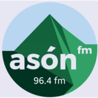 Logo of radio station Asón FM