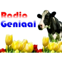 Logo of radio station RadioGeniaal
