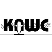 Logo of radio station KAWC