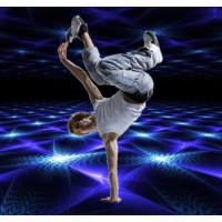 Logo of radio station B-Boy Breakdance Freestyle Electronic Radio