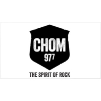 Logo of radio station CHOM 97.7 FM