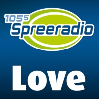 Logo of radio station 105'5 Spreeradio Love