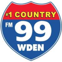 Logo of radio station 99 WDEN