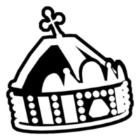 Logo of radio station Szent Korona Rádió