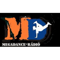 Logo of radio station MegaDance Rádió