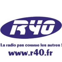 Logo of radio station R40