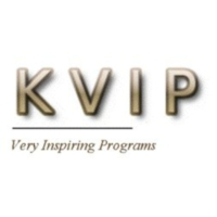 Logo of radio station KVIP Radio