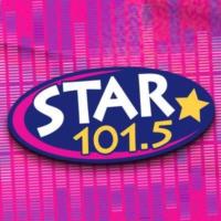 Logo of radio station KPLZ STAR 101.5 FM