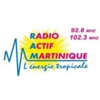 Logo de la radio Radio Actif Martinique