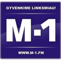 Logo of radio station M-1 Radijo stoties
