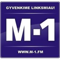 Logo de la radio M-1 Radijo stoties