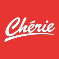 Logo of radio station Chérie
