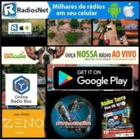 Logo of radio station radio .t. v .fm .povoado coqueiro .maranhao