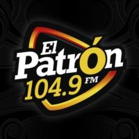 Logo of radio station XHBD El Patrón 104.9 FM