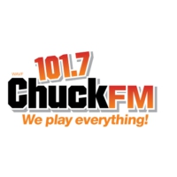 Logo of radio station WAVF 101.7 Chuck FM