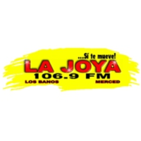 Logo of radio station KQLB 106.9 LA JOYA