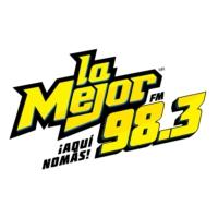Logo of radio station La Mejor 98.3 FM