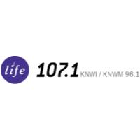 Logo of radio station KNWI