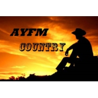 Logo of radio station ayfm country