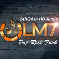 Logo of radio station LM7 RADIO