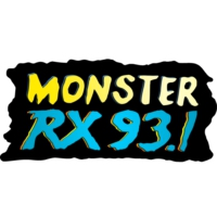 Logo of radio station Monster RX93.1