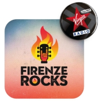 Logo of radio station Virgin Radio Firenze Rocks
