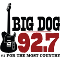 Logo of radio station Big Dog 92.7