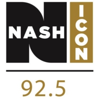 Logo of radio station KJJY 92.5 Nash FM