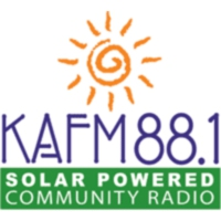 Logo of radio station KAFM 88.1