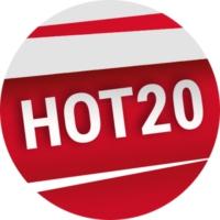 Logo of radio station PolskaStacja - Hot 20 Polska