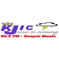Logo of radio station KJIC Gospel Music Radio