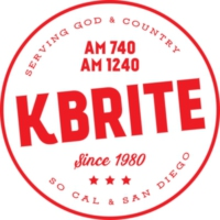 Logo of radio station KBRITE AM 1240