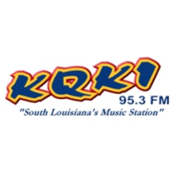 Logo of radio station KQKI 95.3 FM
