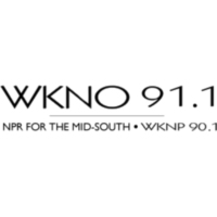Logo of radio station WKNO 91.1