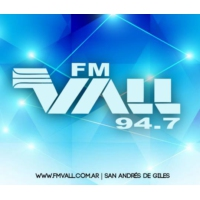 Logo of radio station FM VALL 94.7